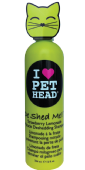 Pet Head Cat De Shed Shampoo 354 ml STRAW/LEMON
